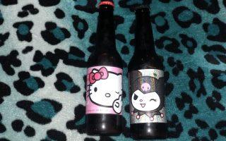 Cerveza de Hello Kitty y Kuromi